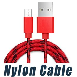 Wholesale More Usb - USB Charging Cable High Speed Micro Nylon Braided USB Charger for Android Samsung Nexus HTC Motorola Nokia HUAWEI and More