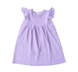Wholesale Girls New Cotton Frocks - New Arrival chinese wholesale children dresses 2017 boutique solid girl pearl dresses fashion baby cotton frocks designs names