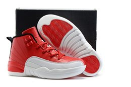 Wholesale Outdoor Games For Kids - Drop Shipping Kids Shoes 12s Flu Game Basketball Shoes For Children Sneakers Boys Girls Athletic Shoes