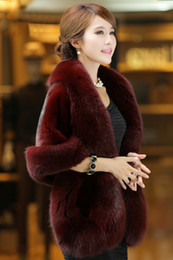 Wholesale Plus Size Fur Shawl - 2017 Warm Bridal Boleros Faux Fur Bridal Wraps Black,Burgundy,Ivory,Black and Gray Plus Size Wedding Accessories Bridal Wraps shawl Cheap