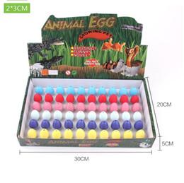 Wholesale grow eggs - Dinosaur Egg Children Toy Cracks Grow Broken Shell Water Hatching Culture Kids Careful Novel Creative Toys 0 35hc C R