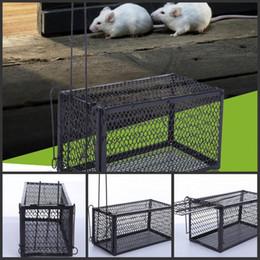 werkzeugsteuerung Rabatt Lustige Nagetier Animal Mouse humane Live Trap Hamster Käfig Mäuse Ratte Kontrolle Fang Köder Pest Control Tools