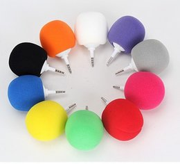 Wholesale Balloon Speakers - 20pcs Fashion Hotsell Multi-Color Mini Music Balloon Speaker Cute Music Ball for iphone Free shipping