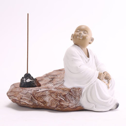 Wholesale Buddhist Supplies - Decoration products Decorative home furnishing articles Buddhist supplies Incense seat Ornamental stone Sedimentary rock Carving handicraft