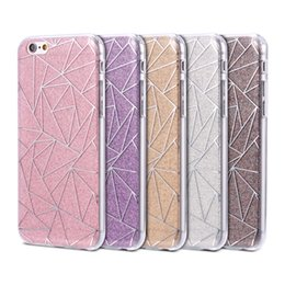 Wholesale Hybrid Polka Dots - For iPhone 7 6 6S Plus 5 5S SE Luxury Hybrid Shiny Bling Glitter Case Diamond Star Polka Dot Heart Love Clear Soft TPU Back Case