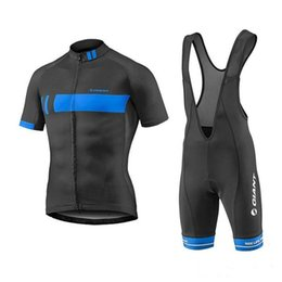 Wholesale Giant Blue White Mountain Bike - Cheep 2016 Giant Team Pro Bicycle Cycling Clothing  Cycle Clothes Wear Ropa Ciclismo Sportswear Mans Racing Mountain Bike Cycling Jersey