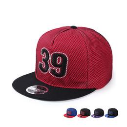Wholesale Bull Caps - Wholesale- Top quality Bulls Superstar Number 39 Embroidery Baseball Caps Women men Mesh snapback gorras Hip Hop hats