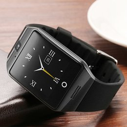 Wholesale Free Email Packages - Smart Watches Smartwatch Passometer Q18 Smart Wristwatch 2018 Support SIM TF Card with Camera for Android IOS Phone With Package Free DHL