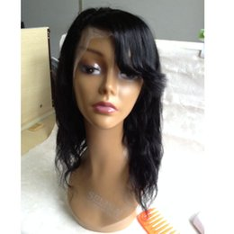 Wholesale Human Lacefront Wigs - Unprocessed Human Lace Front Wigs Cheap Hair Full Lace Wig Lacefront Wig With Baby Hair 100% Brazilian NaturalHair Wigs