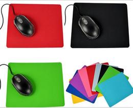 Оптовая дешевые цены Красочные ультра тонкий коврик для мыши довольно безвкусно противоскольжения 17.5 см * 21.5 см от