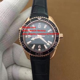 Wholesale Best Women Watches Color - 3 Color Luxury JH Factory Maker Best Edition 18k Rose Gold 37.5mm Planet Ocean Co-Axial 8520 Movement Automatic Ladies Watch Women Watches