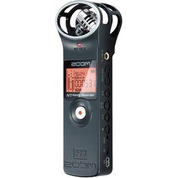 Zoom-mikrofon online-Großhandels-ursprüngliches neues ZOOM H1 protable Handdigitales Sprachaufzeichnungs-Stereotonaufnahmemikrofon für Interview SLR Aufnahmemikrofon