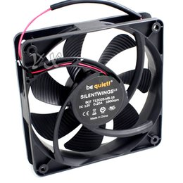 Wholesale Computers Power Case - New Germany Panther T12025-MS-16 0.20A 12CM ultra quiet power supply chassis fan for be quiet