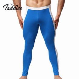 Wholesale Men Tight Sexy Swimwear - Wholesale-Mens Brave person brand Swimwear sexy long pants tight panties Man hot Man Man summer pants men bottoms trousers Swimsuits