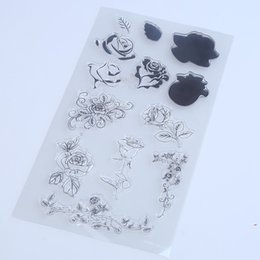 Wholesale Stamps For Scrapbooking - Wholesale- 1PCS LOT Transparent Stamp For DIY Scrapbooking