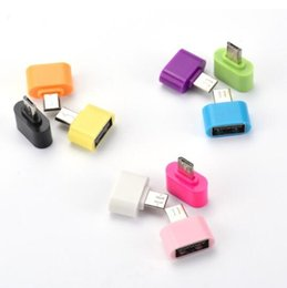 Wholesale Otg Cable Micro Usb Mini - OTG Converter OTG Adapter Micro USB to USB Hub for Mini Android Gadget Phone Samsung Cable Card Reader Flash Drive Wire
