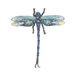 Wholesale antique lapel pins - High Quality Crystal Dragonfly Brooches for Women Girl Green Jewelry Scarf Lapel Pins Brooch Antique Accessories O2202-1