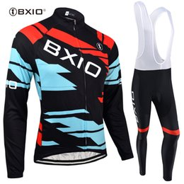 BXIO Brand Cycling Jersey Sets Bicycle Clothing Long Sleeve Cycling Clothes  Ropa Ciclismo Invierno Autumn 5D Gel Pad Bike Clothing BX-134 f37500788