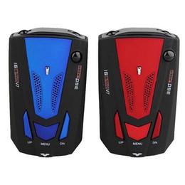 Wholesale Detector Gps - New OBD V7 Car Speed Laser GPS 360 Degree Voice Alert Electronic Dog Radar Detector (Color Blue Red)