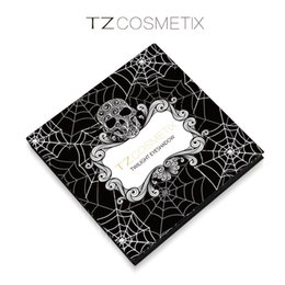 Wholesale TZ Cosmetix Twilight Colors Eyeshadow Palette Matte Shimmer Diamond Foiled Colors Brand eye shades Discount Price Top Quality New Make DHL