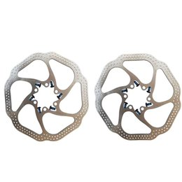 Wholesale Disc Brake Avid Hs1 - High Quality AVID HS1 Bike Brake Rotors 180mm 160mm 6 inches Disc 2PCS 12 Blots BB5 BB7 MTB Bicycle Rotor