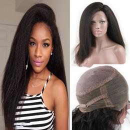 360 Dentelle Frontale Perruques 130% Densité Full Lace Perruques de Cheveux Humains Pour Les Femmes Noires Brésilien Vierge Kinky Droite Lace Front Perruques ? partir de fabricateur