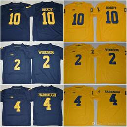 Wholesale Men Butt - 2017 Jumpman #3 Rashan Gary #10 Tom Brady #2 Charles Woodson #4 Jim Harbaugh 88 Butt 5 Peppers 21 Howard Michigan Wolverines Jerseys