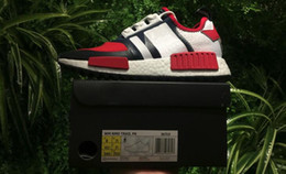Wholesale Top Low Price Shoes - White Mountaineering x NMD Trail Red BA7519 Running Shoes Black BA7518 Sports Sneakers,Top Quality Wholesale Price,Size 36-45,Free Shipping