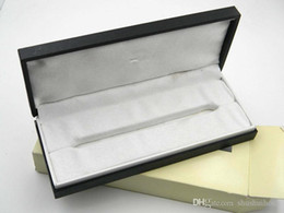 Wholesale Gift Boxes For Pens - High Quality Black Pen Box  Brand Suit For A Pen For NEW Gift Free Shipping