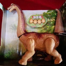 Wholesale Electronic Model Toys - Children dinosaur toys mini wrist dragon dinosaur model Jurassic toys intelligent touch electric induction Jurassic family series