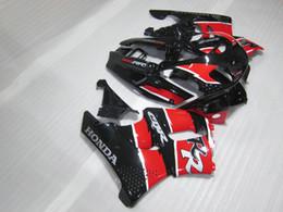 Wholesale Cbr Fairings For Sale - Hot sale Fairing kit for Honda CBR 900RR 1996 1997 red black fairings set for CBR900RR 96 97 OT14