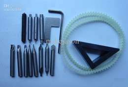 Wholesale Milling Machine Cutting Tools - Full Set Key Cutter End Mill For Vertical Key Cutting Machine Parts Locksmith Tool