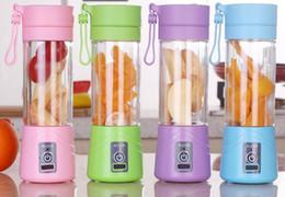 2019 conjunto de cortador de vegetais plásticos Blender Juicer elétrico do fruto Juicer Handheld Smoothie Criador Blender Bottle Juice Cup de cozinha Dispositivos De Pessoal Portátil