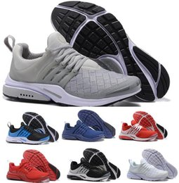 Wholesale Female Sneakers - Top Air Presto Running Shoes Essential Breathe Blackout Men Mans Tennis Training Grey Zapatos Hombre Female China Real Sports Shoe Sneakers