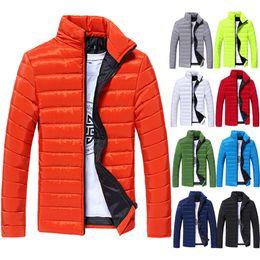 Wholesale White Mandarin Jacket - Wholesale- 2016 Men's Jacket Spring And Autumn New Men Fashion Casual Jacket Solid Men's College Coat Jacket Men
