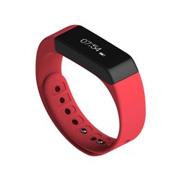 Wholesale Packing For Bracelet - I5 Plus Smart Bracelet Band Waterproof Bluetooth Pedometer Sleep Monitor Fitness Tracker Wristband for smartphone With Retail Packing