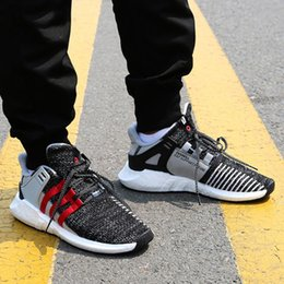 Wholesale Black Woman Coat - Cheap Overkill x Consortium EQT 93 17 Boost Support Future Coat of Arms Pack Men women black sports shoes Sneakers Running Shoes 36-44
