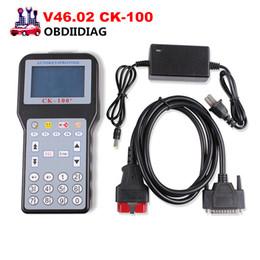 Wholesale nissan g - V46.02 CK100 CK-100 Auto Key Programmer CK100 SBB Update Version Multi-languages Support Toyota G Chip better than v99.99 ck100