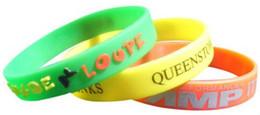 Canada partie promotionnel petits cadeaux gratuits bracelet en silicone bracelet bracelet souple avec qr code informations sur la société 1 couleur d'impression Offre
