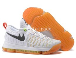 Wholesale Kevin Durant Shoes Colors - 10 colors High Quality KD 9 Low Elite Mens Basketball Shoes KD9 Oreo Grey Wolf Kevin Durant 9s Men's Training Sports Sneakers wholesale
