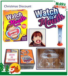 kartenschutz Rabatt Weihnachtsfeier Partyspiel Brettspiel Uhr Ya Mouth Game 200Karten 10 Mundöffner Family Edition Hilarious Mouth Guard