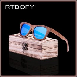 Wholesale Restore Wood - Wholesale- Fashion HD Lens package fashionable restore ancient ways natural environmental protection man bamboo wood polarized sunglasses