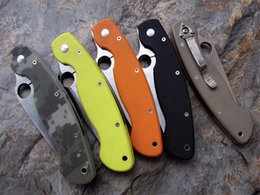 Wholesale Oem Folding - 5 models NEW OEM version Military G10 Handle CPM-S30V blade Camping EDC Survival Pocket Outdoors Foding Knife