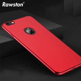 Wholesale Iphone Rubberized Hard Cases - Ultra Slim Hard cellphone Case for iPhone 8 Cases Non Slip Matte Surface Rubberized Finished Cover for iPhone 6s 6 Plus 7Plus
