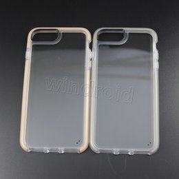 Wholesale Cheap Plastic Packaging - Hight quality TPU + PC Case For Iphone 6 6S 7 8 Case i6 i6S i7 i8 Plus Cases 8 Colors Without Retail Package Free shipping DHL 30pcs cheap