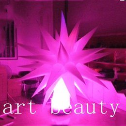 Wholesale Inflatable Led Star Light - Holiday night light decoration LED lighting inflatable star tree balloon cone