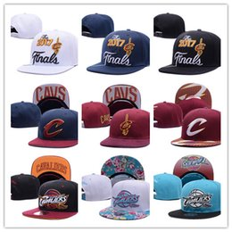 Wholesale Lebron Snapback - NEW style 2017 wholesale price fashion SnapBack Cleveland CAVS Locker Room Official Hat Adjustable men women Baseball Cap lebron james 23#