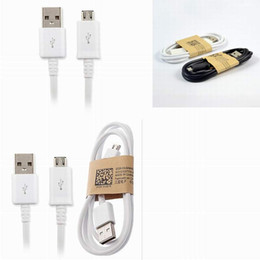 Wholesale Fits Data - Micro USB Cable Charger for Samsung 1m  3 ft fit v8 micro for Samsung HTC cell phones galaxy note 5 data transmitt