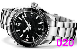 Wholesale Bracelet Fashion - Bracelet Fashion Mechanical Men's Stainless Steel Automatic Movement Watch Sports mens Self-wind Watches James Bond 007 Skyfall Wristwatch