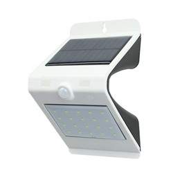 Wholesale Solar Motion Path - 20 LEDs Solar Power PIR Motion Sensor Wall Light Outdoor Waterproof Energy Saving Street Yard Path Home Garden Security Lamp